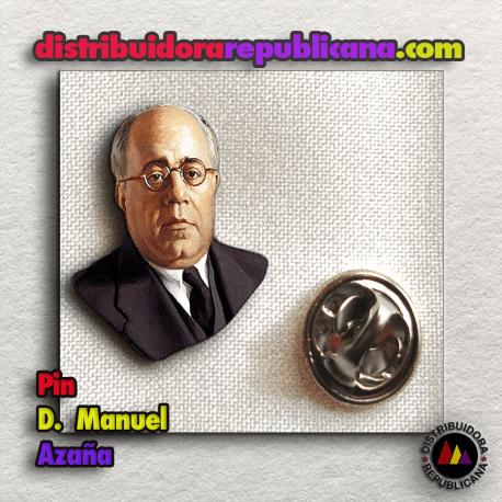 Pin Busto de Manuel Azaña