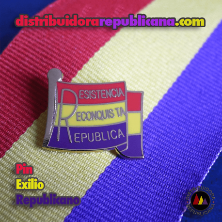 Pin del Exilio Republicano