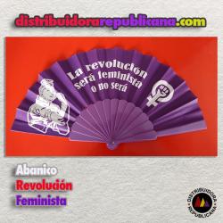 Abanico  Revolución Feminista