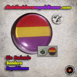 Pin Redondo Republicano