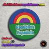 Imán en caucho 3d- República Española
