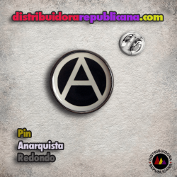 Pin Anarquista Redondo
