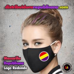 Mascarilla Republicana Logo Redondo