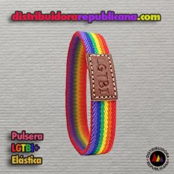 Pulsera LGTBI Elástica