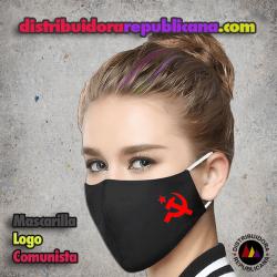Mascarilla Logo Comunista