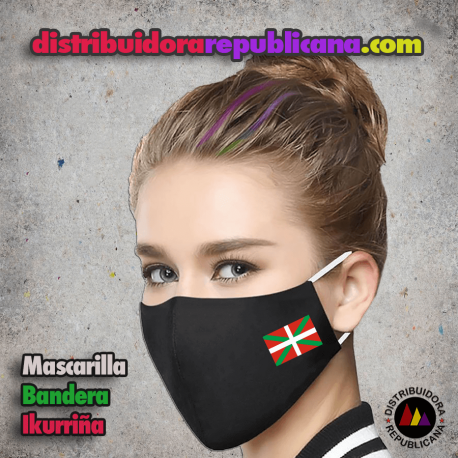 Mascarilla Bandera Ikurriña