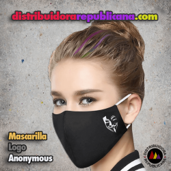 Mascarilla Logo Anonymous