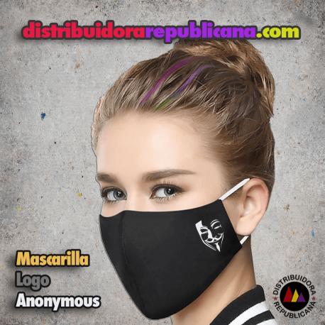 Mascarilla Logo Anonymous