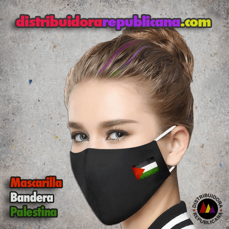 Mascarilla Bandera Palestina