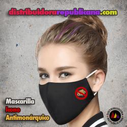 Mascarilla Icono Antimonárquico