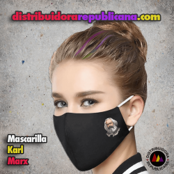 Mascarilla Karl Marx