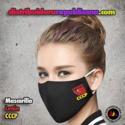 Mascarilla Lenin CCCP