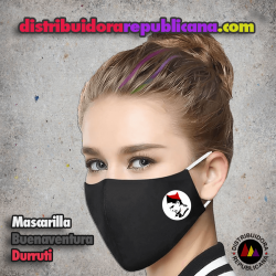 Mascarilla Buenaventura Durruti