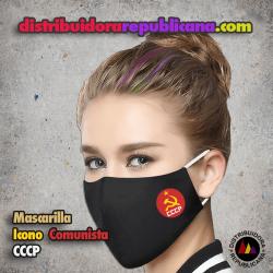 Mascarilla Icono Comunista CCCP